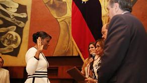 Diana Salazar llega a la Fiscalía a poner orden