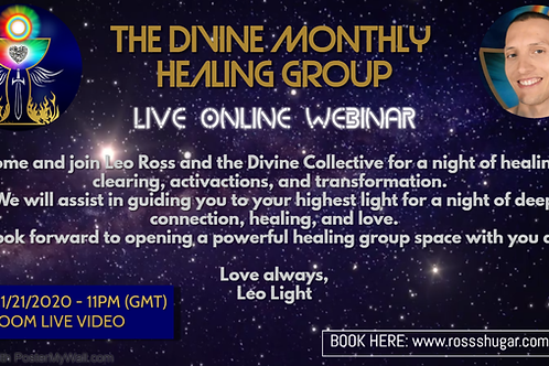 The Divine Monthly Group - Live Seminar (21/01/2021 - 11PM GMT)