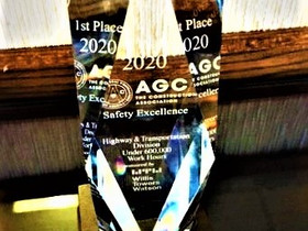 IHC Earns 1st Place AGC National 2020 Construction Safety Excellence Award