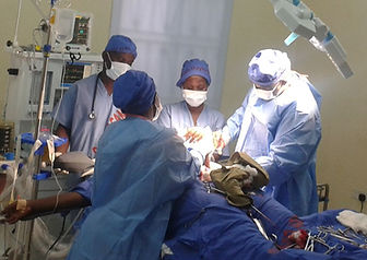 First surgery at RGHM