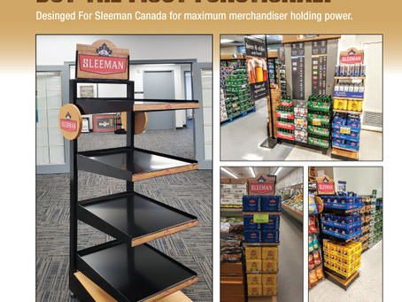 Sleeman's Brewery Merchandising Unit
