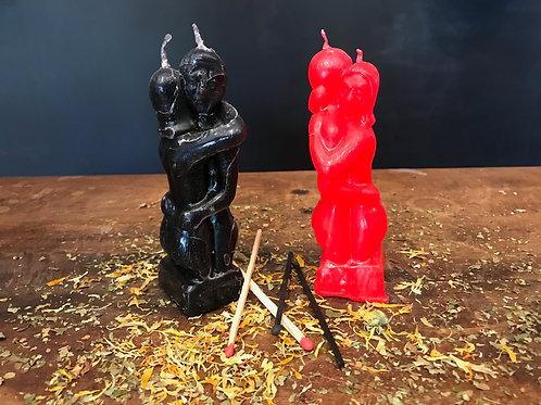 Erotic Couple Candle