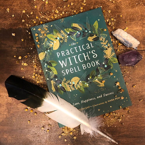 The Practical Witches Spell Book by Cerridwen Greenleaf