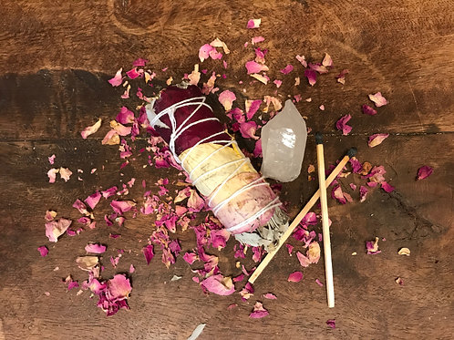Sage and Rose Petal Bundle