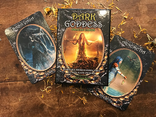 Dark Goddess Oracle Cards