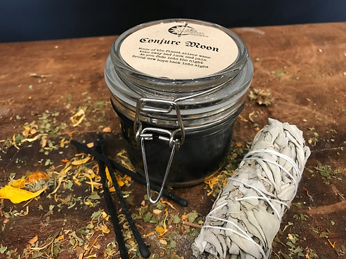 Conjure Moon Candle