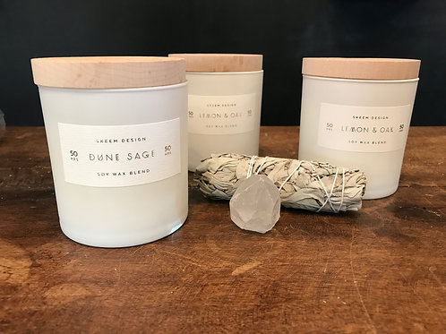 Skeem Design Soy Wax Blend Scented Candles