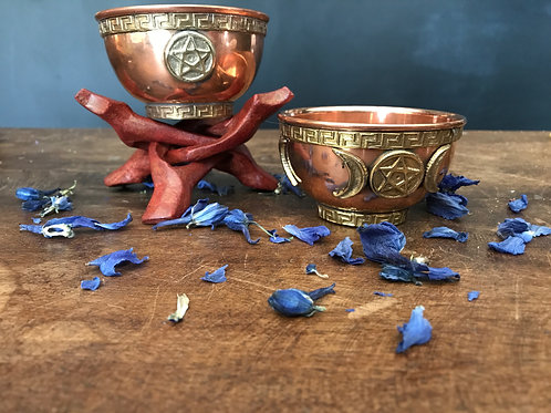 Copper Offering Bowls