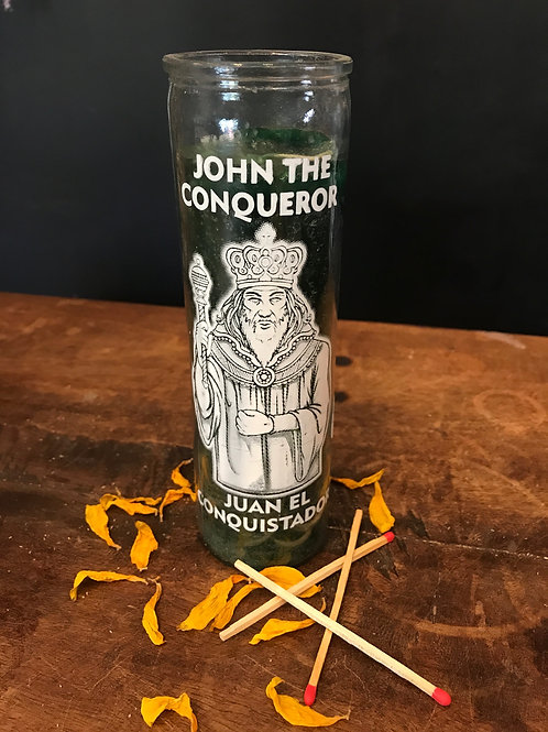 John the Conqueror Candle