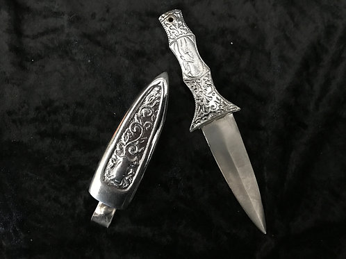 Silver Celtic Athame