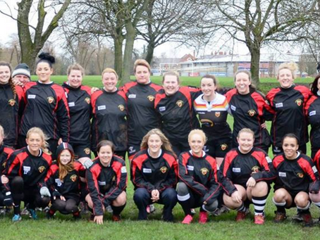 Crewe and Nantwich Ladies warm and dry in new Scott James Stash!