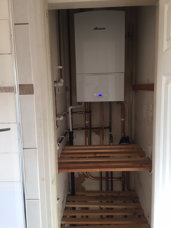 2016 boiler install