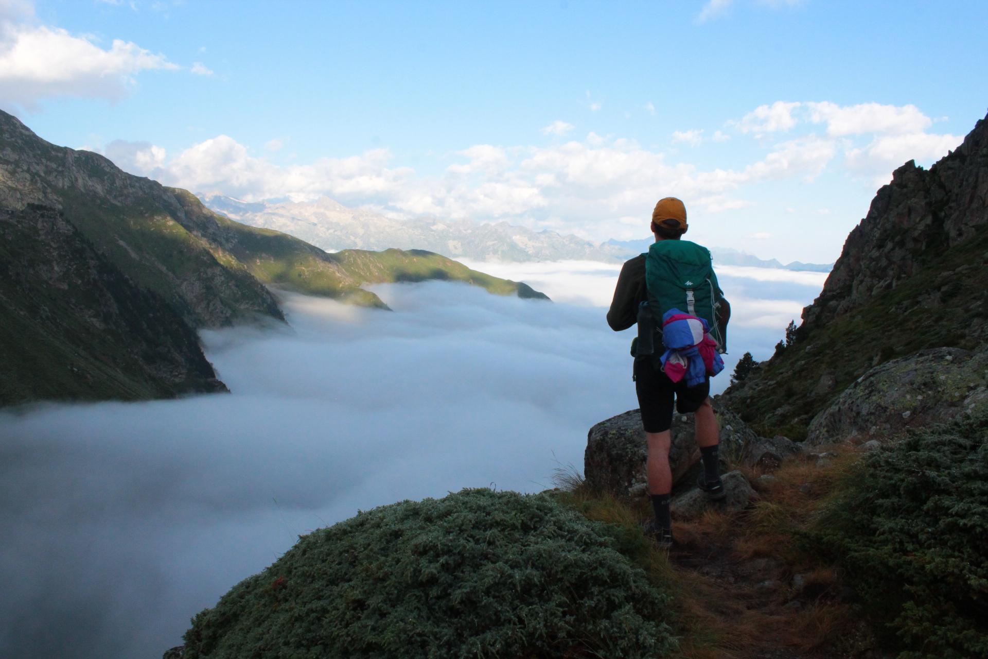 Une randonnée dans les Pyrénées