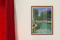 """La chambre """"Canal du Midi"""""""