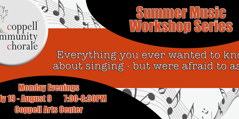 Summer Music Workshop Series: Music Making Skills