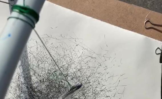 Video: Drawing Machine at work