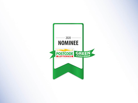 Spintex nominated for the Postcode Lotteries Green Challenge 2020!