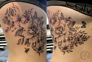Fist tattoo for Briana