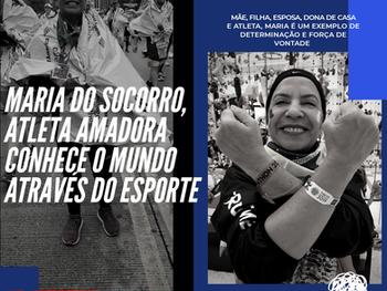 Maria do Socorro: Atleta amadora corre o mundo para realizar seus objetivos