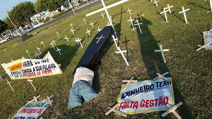 ACAMPAMENTO DA VITÓRIA: a saga dos aprovados no concurso da Polícia Militar de 2018