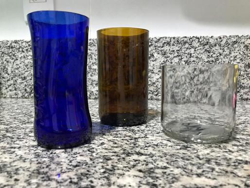O vidro não se decompõe, mas você sim! Deixe já sua contribuição ao meio ambiente