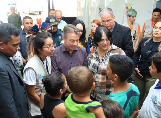 Em Visita a Roraima, Ministra Damares Alves cumpre agenda em Boa Vista, Pacaraima e Mucajaí