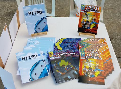 Mippo e Tribo da Justiça: As histórias em quadrinhos roraimenses