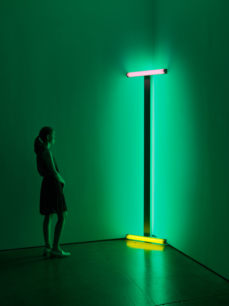 Dan Flavin / David Zwirner Gallery