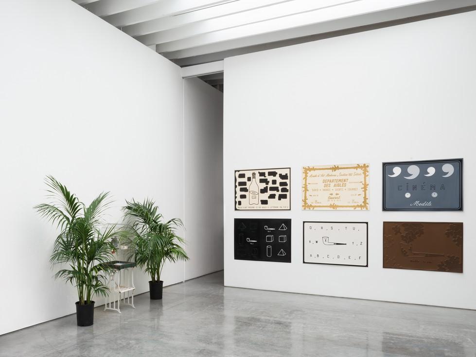 Marcel Broodthaers / Kasmin Gallery