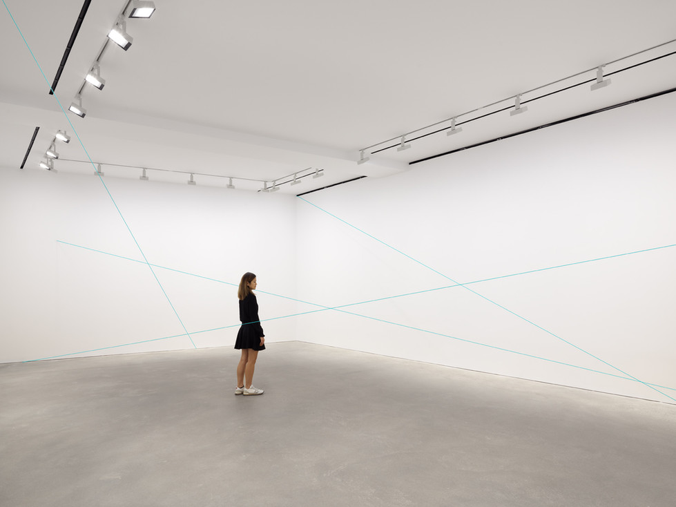 Fred Sandback / David Zwirner Hong Kong