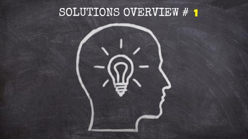 Solutions Overview 01 - a 2frame Analytics e um doce problema