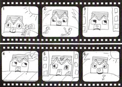 The Little House Storyboard