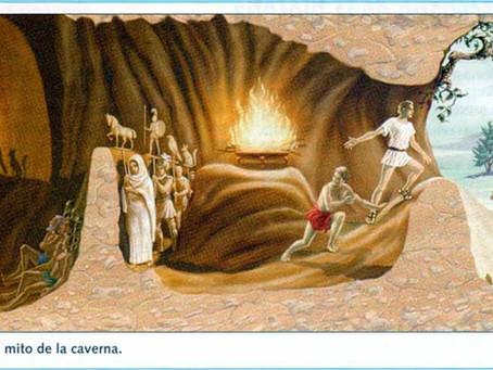 El mito de la caverna y nuestra realidad
