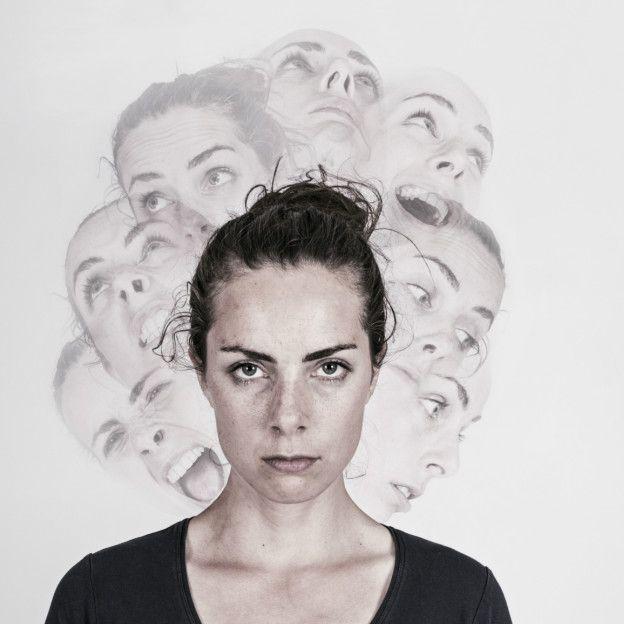 Mujer con personalidad múltiple. Imagen tomada de internet.