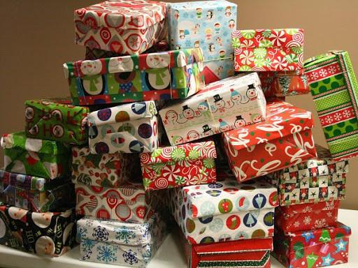 Shoeboxes for Operation Christmas Child