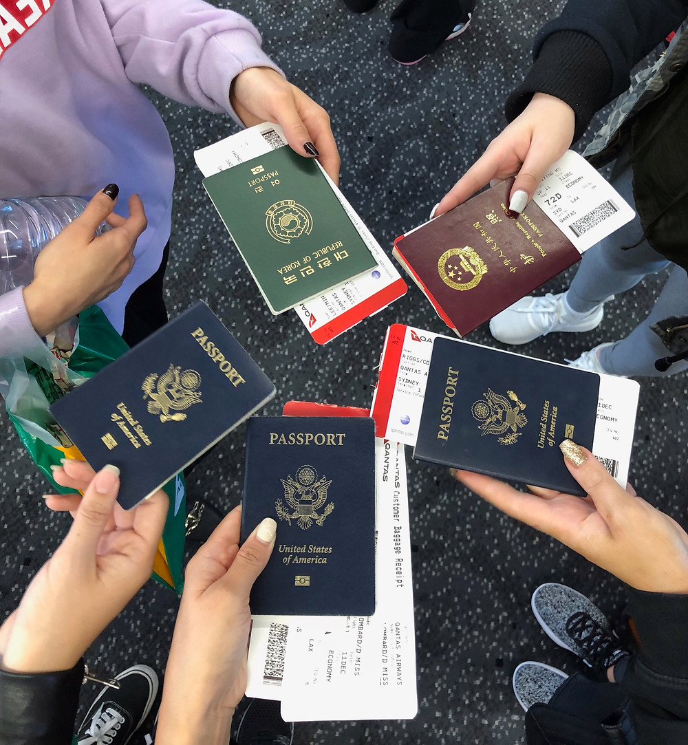 passports, travel, flights, flying, traveling