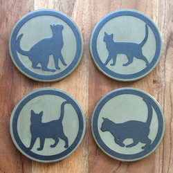CATS _ pewter