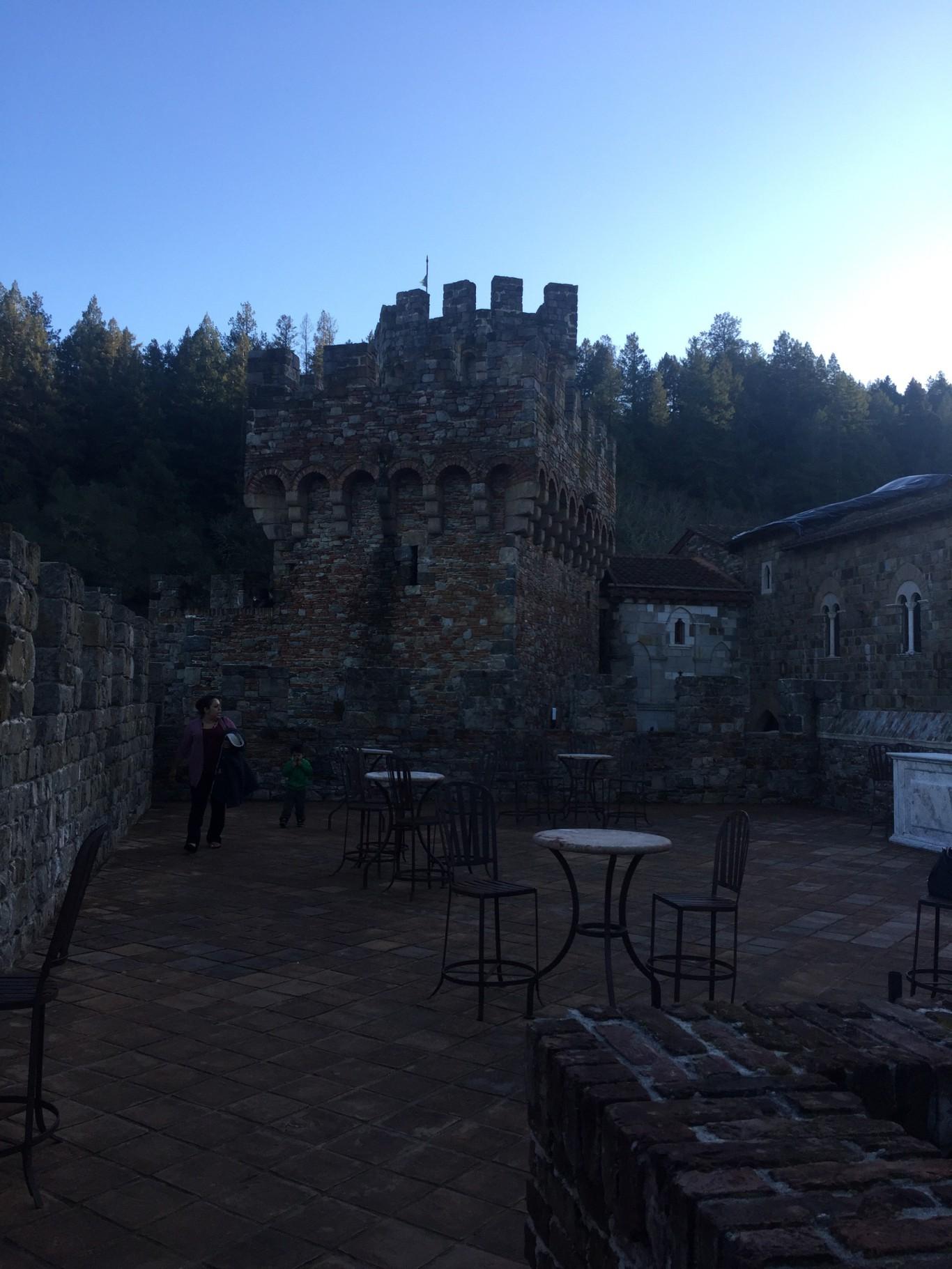 Castello Di Amorosa en Napa
