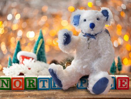 新作クリスマスベア ホワイトカラーのテディベア ホワイトクリスマスに贈ります!