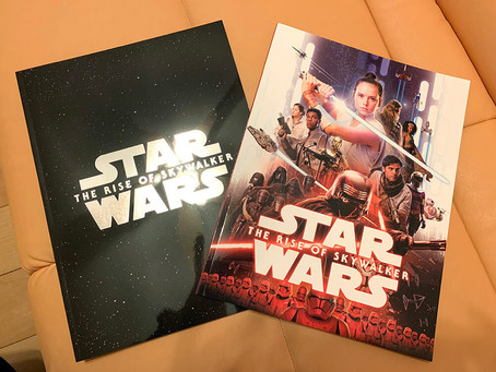 【STAR WARS THE RISE OF SKYWALKER】限定パンフレット 買ってみた。
