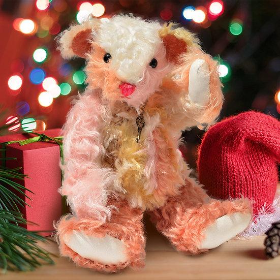 夢のようなカラフルで甘い テディベア【クリスマス】【ギフト】