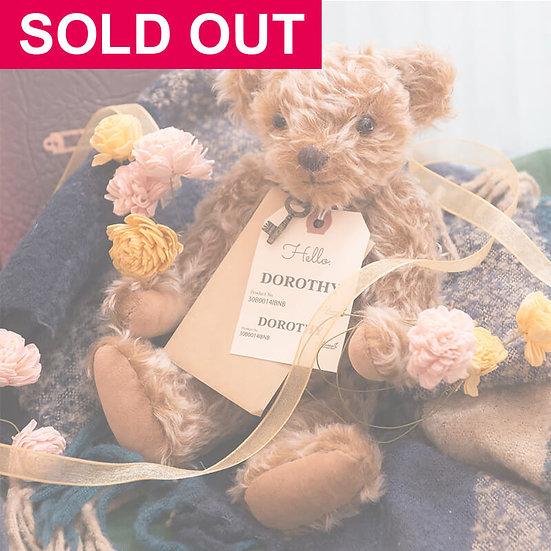 魔法のテディベア【DOROTHY】- Original Teddy Bear - 限定1点