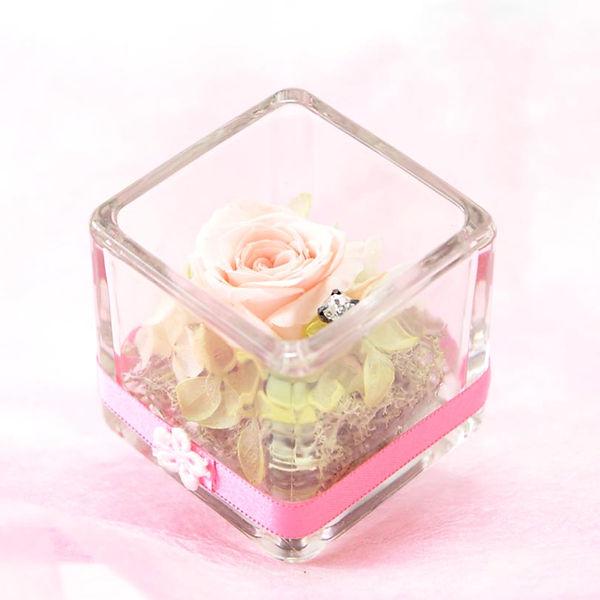 母の日ギフト Cube ミルキーピンク2
