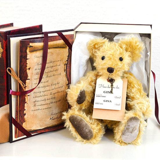 魔法のテディベア【GINA】- Original Teddy Bear-限定1点