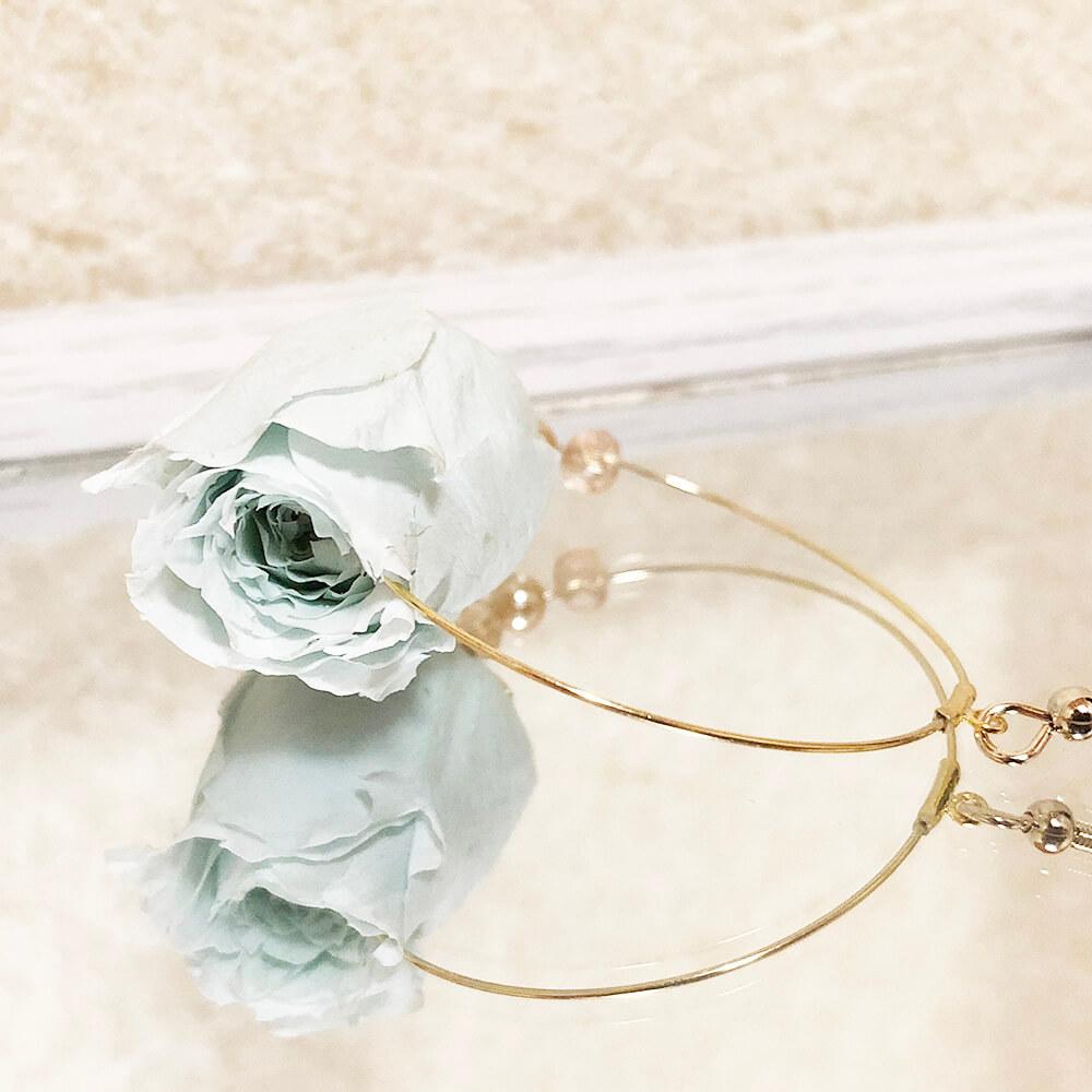 夜露の薔薇