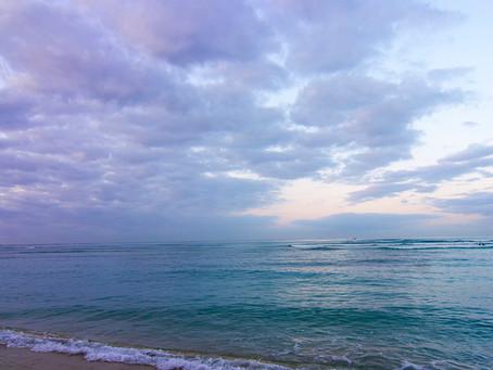 朝の景色は元気をくれる。