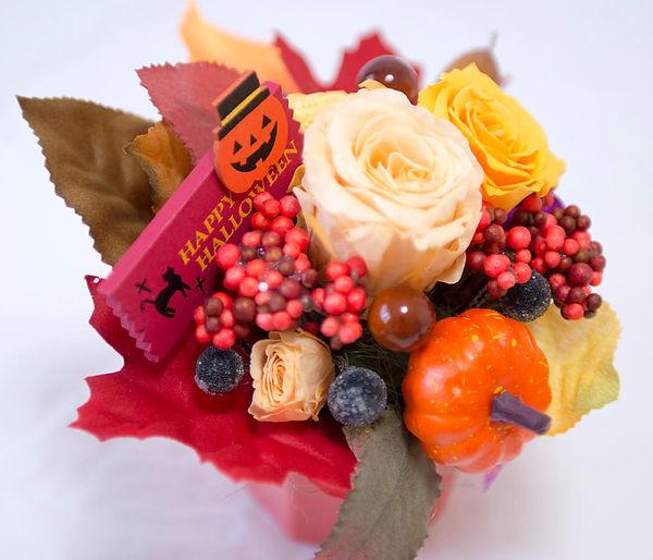 ハロウィン アレンジ斜め 上 明るい2.jpg