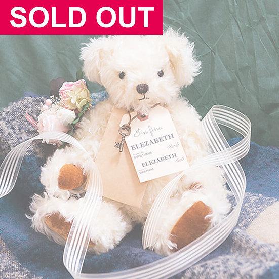 魔法のテディベア【ELEZABETH】- Original Teddy Bear - 限定1点