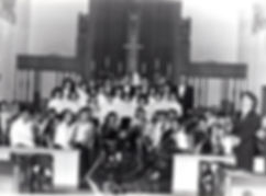 楊士宏指揮Ave verum corpus                                           Infant Jesus Chapel