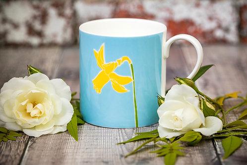 Daffodil flower mug